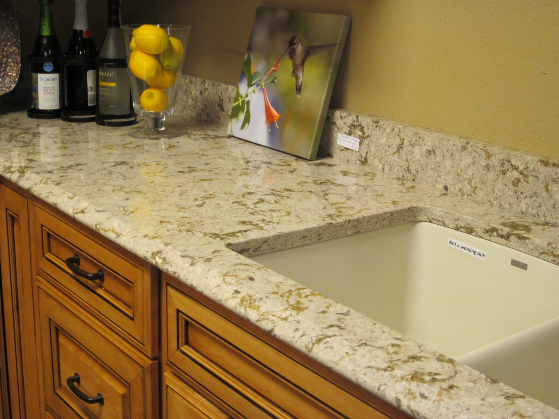 Granite Countertop · Beautiful Finish